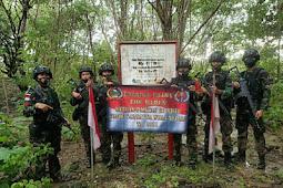 Satgas Pamtas RI-RDTL Cek 554 Patok Tersebar di Perbatasan Indonesia - Timor Leste