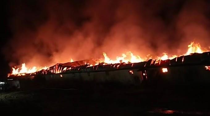 ट्राइडेंट ग्रुप फैक्ट्री में लगी भीषण आग भोपाल फायर ब्रिगेड से 8 फायर फाइटर मौके पर