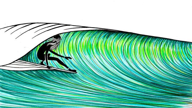 11 santander surf film classic taller de dibujo de surf - Dibujos para tablas de surf ...