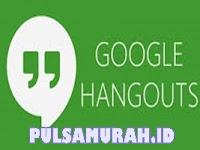 Cara Transaksi Pulsa Via Hangout