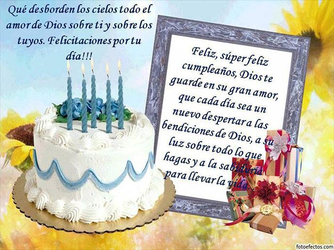 Mensajes De Feliz Aniversario Cristiano: Feliz Cumpleaños Con Mensajes Cristianos