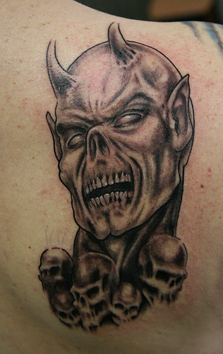 111+ Devil Tattoos, Designs & Ideas With Meanings |Evil Devil Tattoos