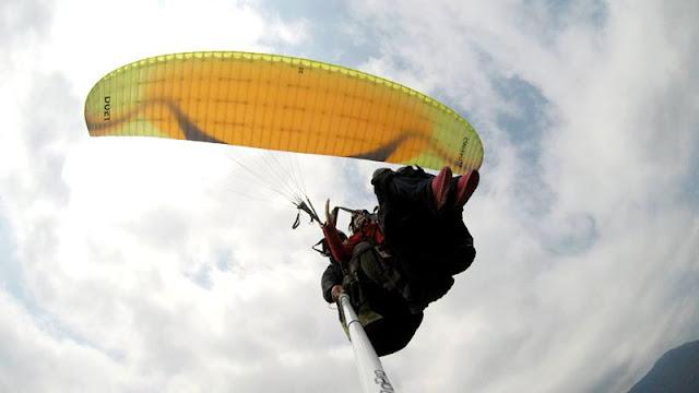 「明利飛行傘」帶您實現飛行夢想 飽覽浩瀚無垠的山川美景!