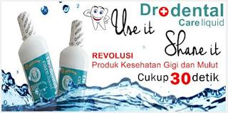 Obat kumur penghilang bau mulut herbal alami permanen tradisional Dr dental Liquid