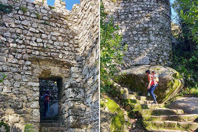 Climbing Castelo dos Mouros