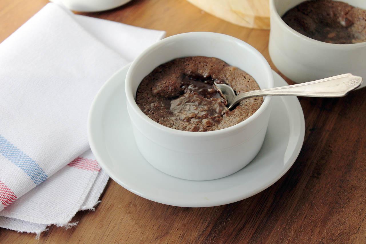 Postre Chocolate Lava