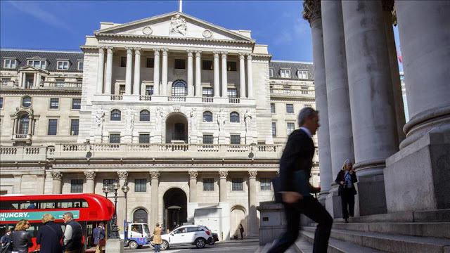 Bank of England hikes interest rates by 0.25 pct