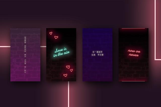 efectos-neón-texto-animaciones-para-historias-de-Instagram