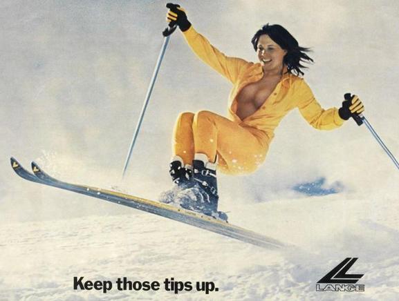 lange ski boot for women