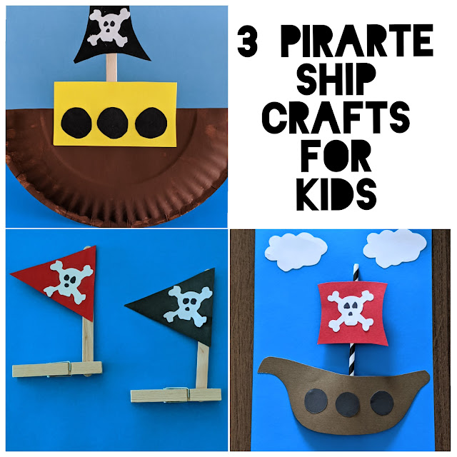 pirate ship crafts for kids
