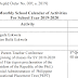 OFFICIAL SCHOOL CALENDAR SY 2019-2020 (DO 007, s. 2019)