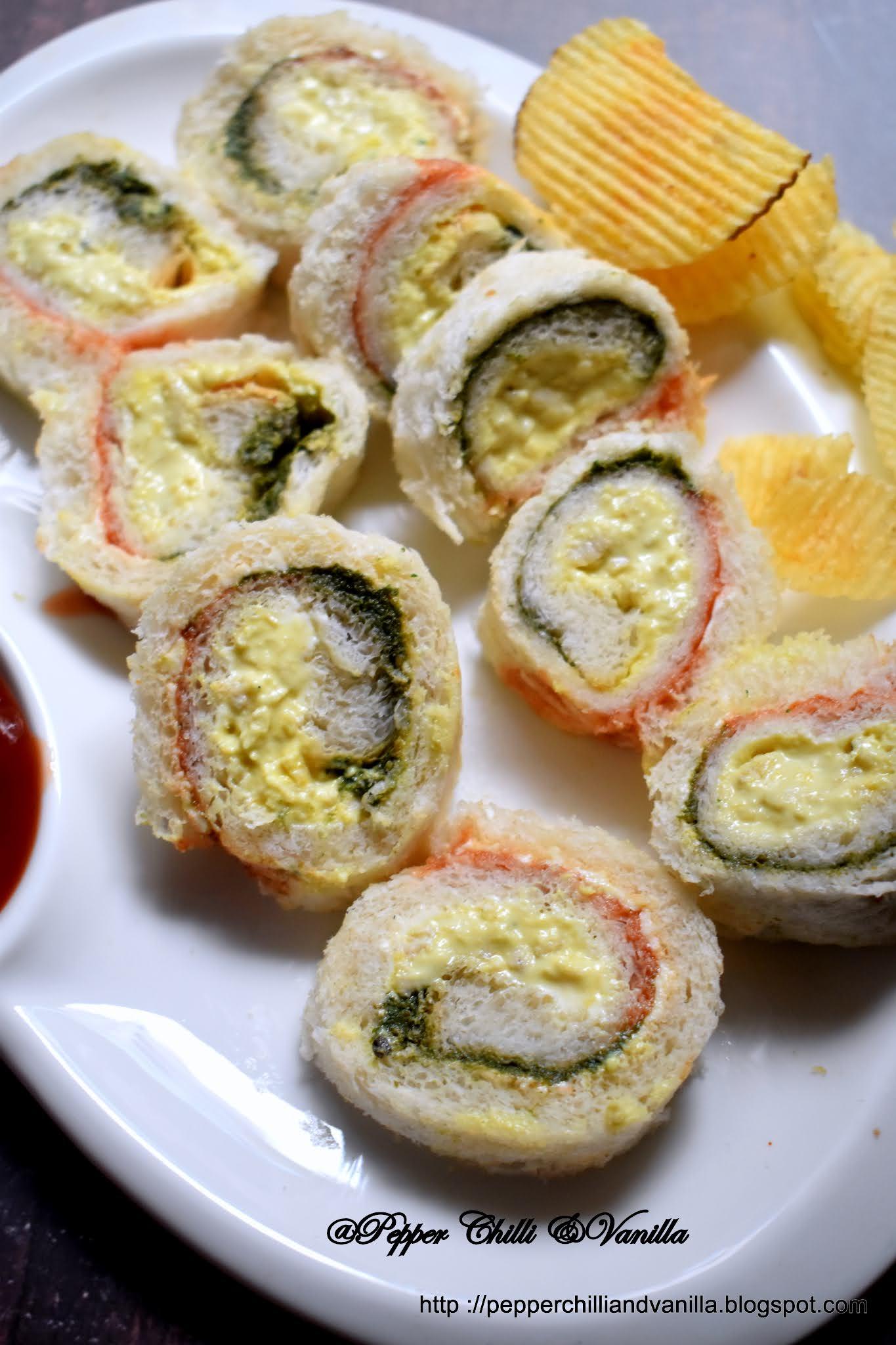 pinwheel sandwich recipe