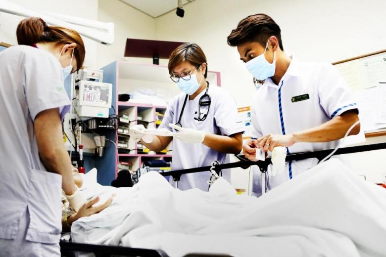 Singapore General Hospital (SGH) has been ranked the third best hospital in the world by Newsweek magazine, in part for its clinical research and 'outstanding nursing'.