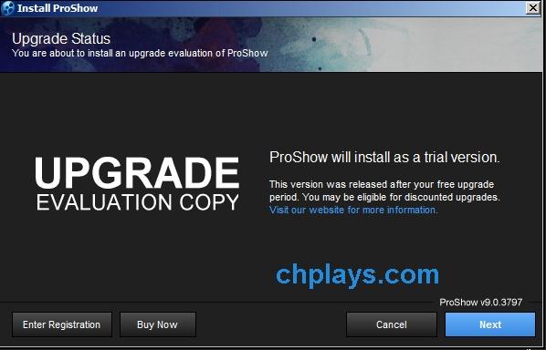 Hướng dẫn cài đặt phần mềm Proshow Producer 9.0.3797 b