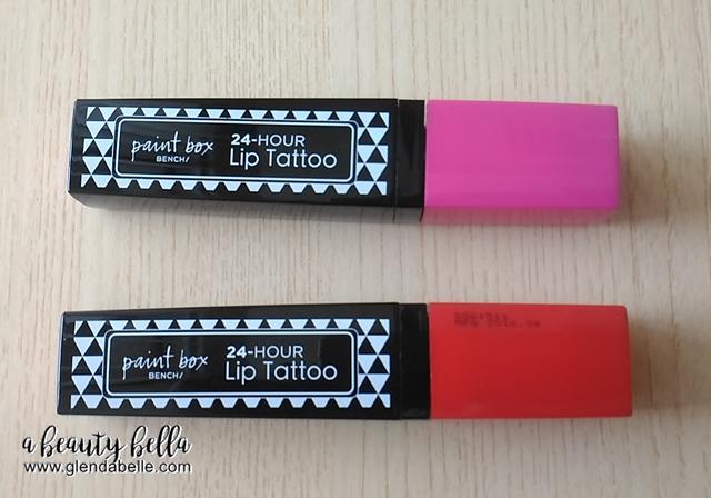 Bench Paint Box 24 Hour Lip Tattoo
