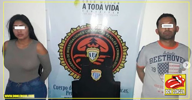 Atraparon a esta pareja de homicidas en Carabobo