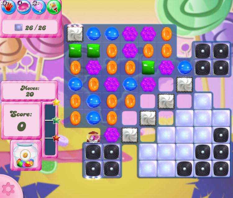 Candy Crush Saga level 2757