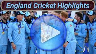 England Cricket Highlights