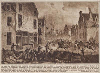Hollandse troepen leveren slag in de Vlaamse Steenweg op 23 september 1830