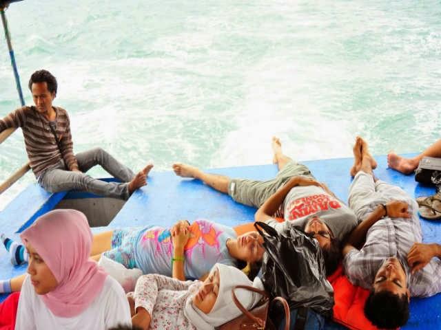 Kesalahan umum di kapal ferry
