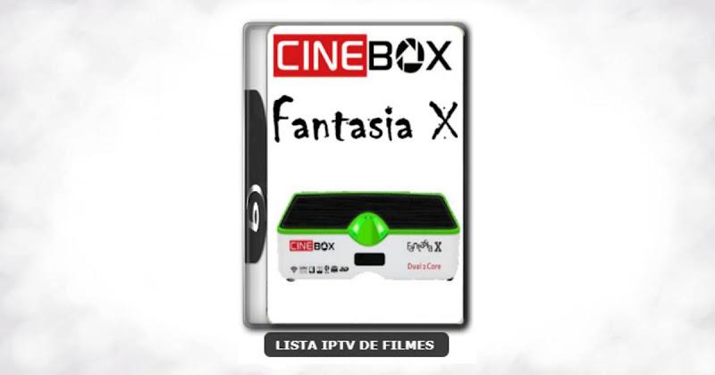 Cinebox Fantasia X Dual Core Melhorias no IKS Nova Atualização