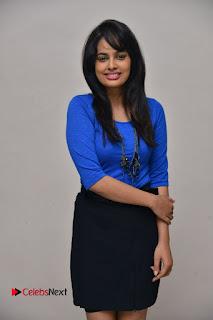 Actress Nandita Swetha Stills in Black Mini Skirt at Ekkadiki Potavu Chinnavada Movie Special Show  0047.JPG