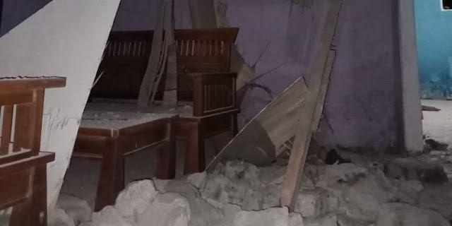 Sedikitnya 60 Rumah Rusak Akibat Gempa Bumi di Halmahera Selatan
