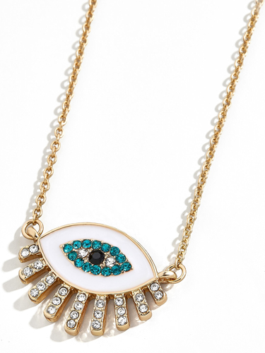 bauble bar eye necklace