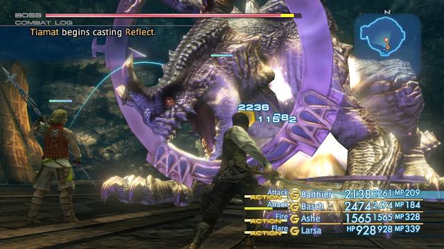Mira estos nuevos vídeos de Final Fantasy XII: The Zodiac Age