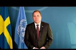 Inilah Pidato Perdana Menteri Swedia, Stefan Löfven Saat Berbicara di Debat Umum PBB ke 75