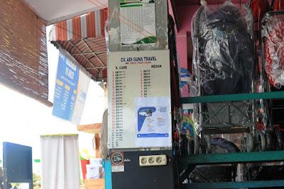 Daftar Mobil Bona / Taksi pada CV Adi Guna Travel Kutacane - Kabupaten Aceh Tenggara