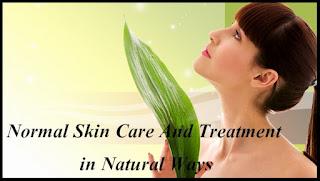 kulit wajah normal, cara merawat kulit normal