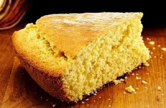 Bizcocho de harina de maiz