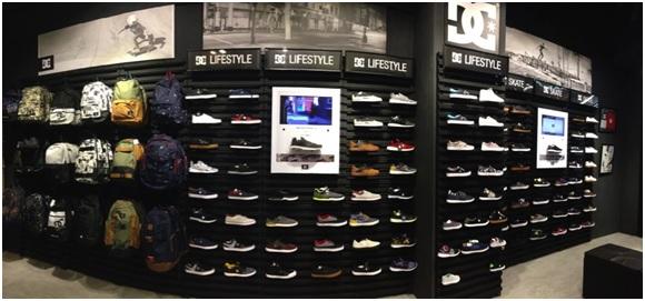 Toko baru DC Shoes di jakarta