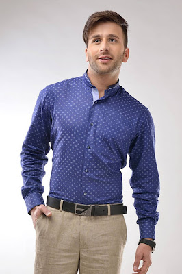 branded cotton shirts for men