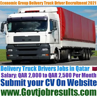Economic Group Delivery Truck Driver Recruitment 2021-22