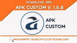 ApkCustom v. 1.6.8 Lates version