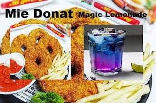 Resep Masakan: Donat Indomie dan Minuman Magic Lemonade paling enak