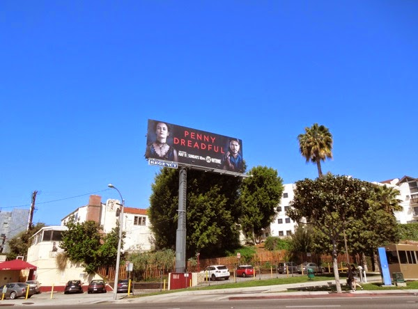 Penny Dreadful TV billboard