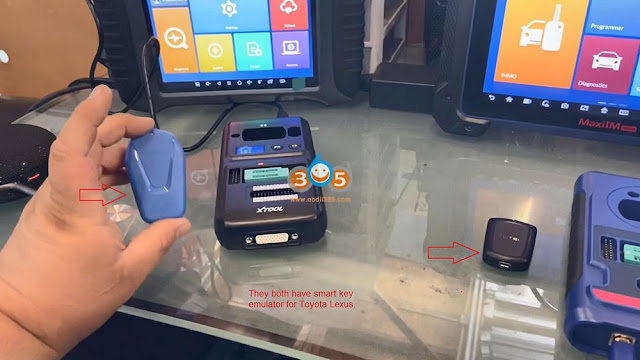 Autel IM608 Pro and Xtool X100 PAD3 Comparison 2