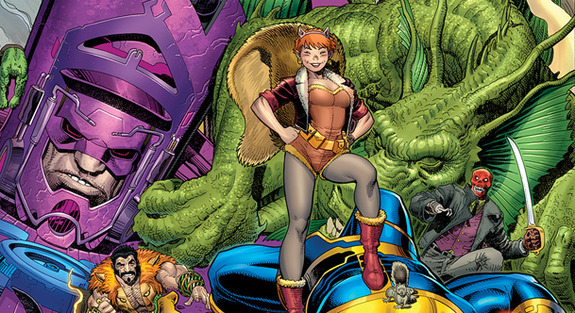 squirrel girl superhero wanita terkuat