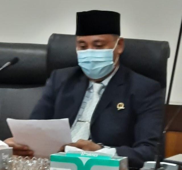 Perhatian Kwalitas, Hasbullah :  Perbaikan Jalan KSU Kalimulya Kota Depok Harus Dikebut