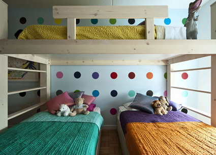 10 shared children's bedrooms with lots of color 6