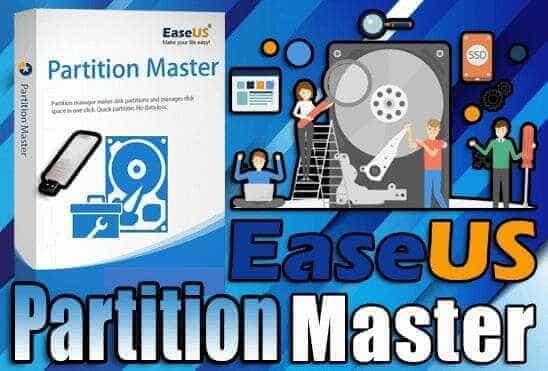 تحميل برنامج EASEUS Partition Master 15 Portable نسخة محمولة مفعلة