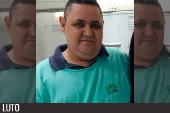 Luiz Carlos Azevedo, 47 anos, era técnico de enfermagem na UPA Zona Norte. Café com Jornalista