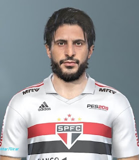 PES 2019 Faces Húdson by Lucas Facemaker