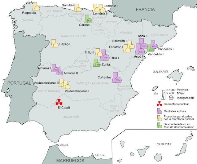 Parc nucléaire espagnol