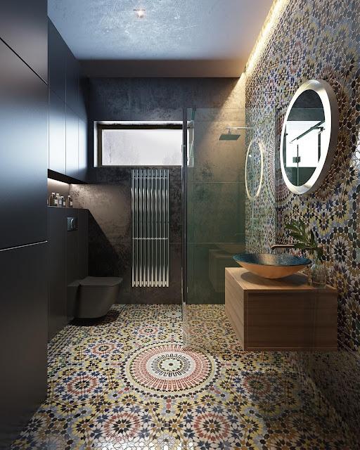 Bathroom Pop Design
