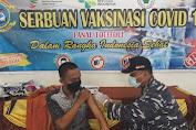 Kejar Target Vaksin Covid-19, TNI AL Tolitoli Salurkan Vaksin Untuk Mahasiswa
