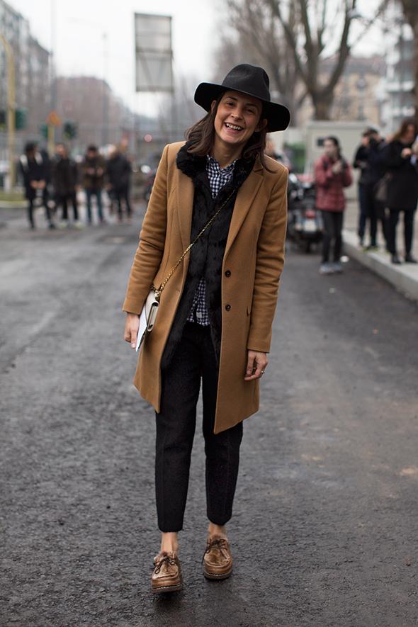 Parisienne Camel Coat